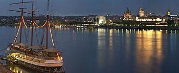 Blick auf Mainz Mainz