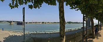 Rheinufer Mainz