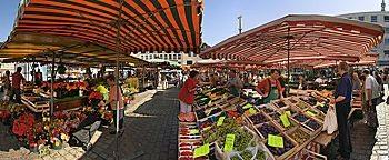 Wochenmarkt  Mannheim