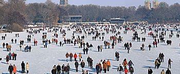 Aasee-Eisläufer  Münster