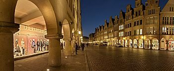 Altstadt am Abend  Münster