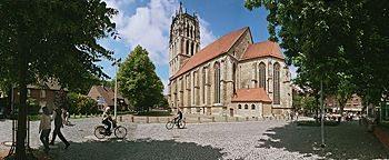 Überwasserkirchplatz  Münster