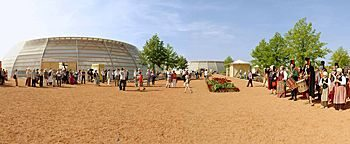 Am Kulturforum BUGA 2005München