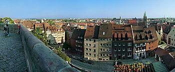 Stadtpanorama Nürnberg
