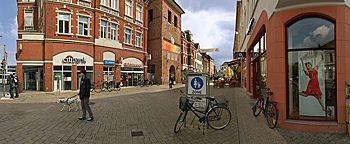 Lange Straße am Lappan Oldenburg