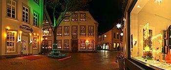 Altstadt in der Weihnachtszeit Osnabrück