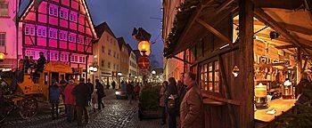 Am Weihnachtsmarkt Osnabrück