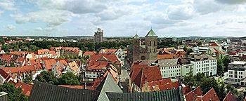 Blick auf Osnabrück  Osnabrück