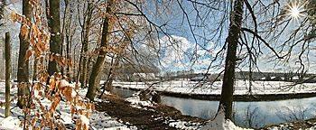 Nettetal im Winter Osnabrück