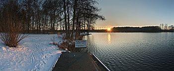 Sonnenuntergang Rubbenbruchsee Osnabrück