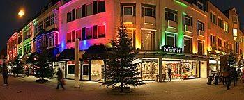 Weihnachtsbeleuchtung Krahnstraße Osnabrück