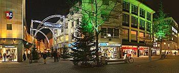 Weihnachtszeit am Nikolaiort  Osnabrück