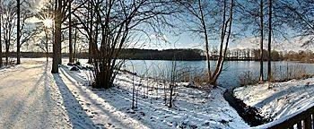 Winter am Rubbenbruchsee Osnabrück
