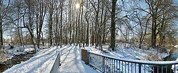 Winterlandschaft Osnabrück