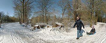 Winterspaziergang Osnabrück