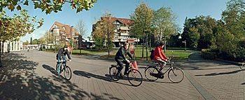Bernburgplatz im Herbst Rheine