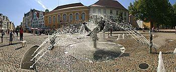 Brunnen der Lebensfreude  Rostock