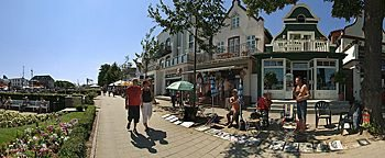 Hafenpromenade Rostock-Warnemünde
