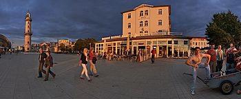 Seepromenade Rostock-Warnemünde