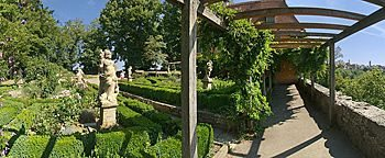 Burggarten  Rothenburg ob der Tauber