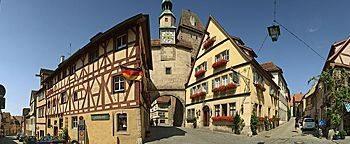 Röderbogen am Markusturm  Rothenburg ob der Tauber