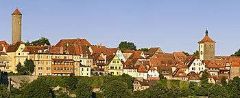 Stadtansicht Rothenburg Rothenburg ob der Tauber
