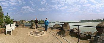 Auf der Grotte Schweriner Schloss Schwerin