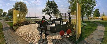Eine Insel mit 2 Bergen BUGA 2009 Schwerin