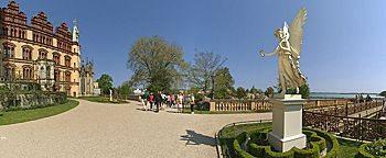 Engelstatue Schweriner SchlossSchwerin