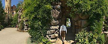 Grotten-Eingang Schweriner Schloss Schwerin