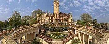 Orangeriehof Schweriner Schloss Schwerin