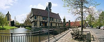 Wasserburg  Steinfurt Burgsteinfurt