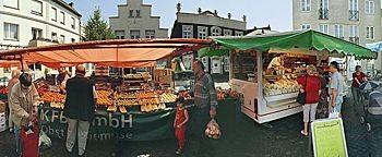 Wochenmarkt Steinfurt-Burgsteinfurt