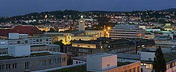 Abendstimmung  Stuttgart