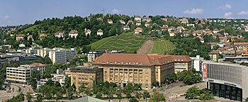 Blick auf Stuttgart  Stuttgart