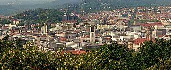 Blick über Stuttgart  Stuttgart