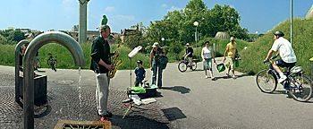 Straßenmusiker  Stuttgart