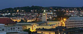 Stuttgart am Abend Stuttgart