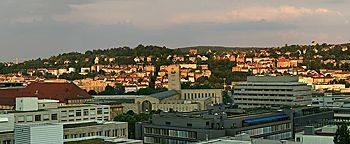 Stuttgart in der Abendsonne Stuttgart