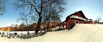 Winterlandschaft Ferienwohnung Tecklenburger Augenblicke