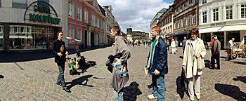 Straßenkünstler  Trier