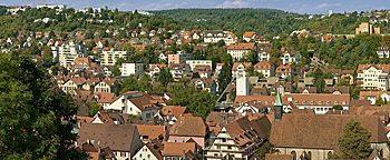 Blick auf Tübingen Tübingen