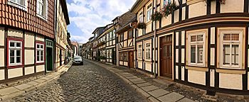 Altstadtgassen  Wernigerode