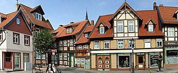 Am kleinsten Haus  Wernigerode
