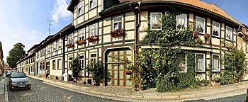 Fassadengestaltung  Wernigerode