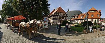 Planwagen-Startplatz  Wernigerode