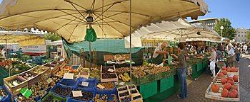 Wochenmarkt  Wiesbaden