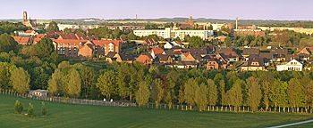 Blick auf Wismar  Wismar