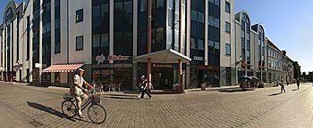 Fußgängerzone  Wismar