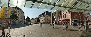 Barbarossaplatz Würzburg